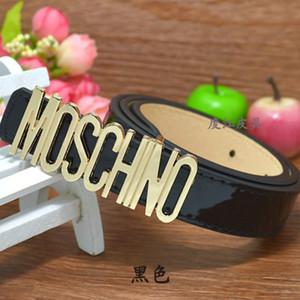 Heißen Verkauf-neue Kinder-PU-Leder-Gürtel Kinder Junge Mädchen Brief Metallschnalle Gürtel Mode Freizeit Taillen-Bügel 80cm