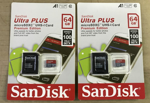 32GB / 64GB / 128GB / 256GB SDK الأصل بطاقة مايكرو التنمية المستدامة / بطاقة PC TF C10 / الفعلية بطاقة ذاكرة ذات سعة / SDXC بطاقة تخزين 100MB / S