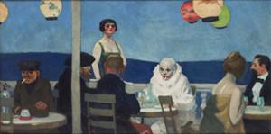 Edward Hopper Soir Bleu Home Decor pintado à mão HD Impressão da pintura a óleo sobre tela Wall Art Canvas Pictures 200208