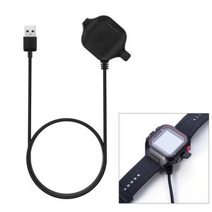 Clip de carga Base de datos del cargador horquilla de la sinc para Garmin Forerunner 25 Cable USB