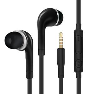 J5 auriculares jack de 3,5 mm en la oreja para auriculares con cable auricular con el micrófono para Samsung Galaxy S4 S5 S6 S7