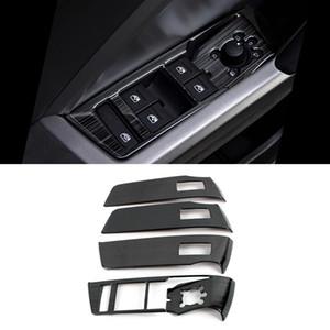 Accesorios de coches Ventana de Control Panel de cubierta Ascensor botón Recortar etiqueta engomada del marco de la decoración de interiores para Audi Q3 F3 2018 2019 2020