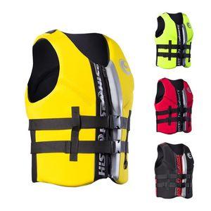 Surfing Life Jacket Lifesaving Vest Snorkeling Go Fishing Drift Men And Women Water Sport Tourism Universal 130hs Adult life jacket vest