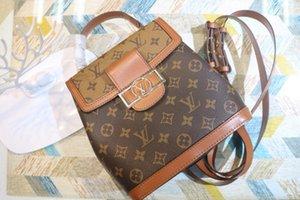newest designer Lockme backpack M44391 women handbag Genuine Leather luxury Flip Crossbody bag messenger bag shoulder bags clutch