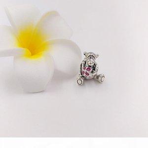 L L autentico 925 Silver Beads Tiger fascino Adatto monili europei di stile Famiglia Pan della collana dei braccialetti 792135en80