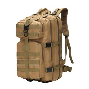 35L Camouflage tactical Backpack Computer Backpack SchoolBags Waterproof Laptop Backpack Large Capacity Rucksack for Boys girl WJJ