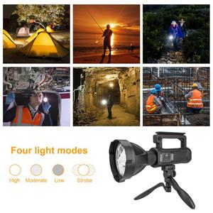Handheld Spotlight Lantern Handheld P50 Emergency Electric Torch Lamp for Camping Hiking Outdoor