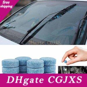 100pcs 1pc = 4l pára-brisa do carro de água Óculos Auto Glass Window Washer Cleaner Compact Effervescent Tablet Detergente Acessórios Car