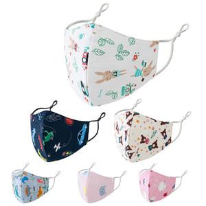 Çocuklar erkekler ve kızlar için Yıkanabilir nefes ince üç boyutlu maske ayrı paketlenmiş saf pamuk 3d maske moda yüz maskeleri yüz