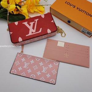 favorite multi pochette accessories designer luxury handbag purse genuine leather L flower shoulder crossbody bag ladies purses 3 pcs purse1
