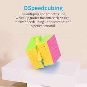 TW1906076 DIY Rubik küp bulmaca Altın ve gümüş ayna üçüncü dereceden küp sevdirmek ve Odak Karşıtı uçan kenar sihirli küp yapboz
