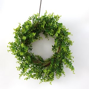 Artificial Flower Eucalyptus Leaves Wreath Home Decoration Accessories Garden Decoration Party Supplies Farmhouse Door Decor