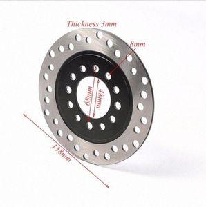 160мм задний тормозной диск Диск ротора для Quad ATV Buggy Go Kart Taotao COOLSTER zUG0 #