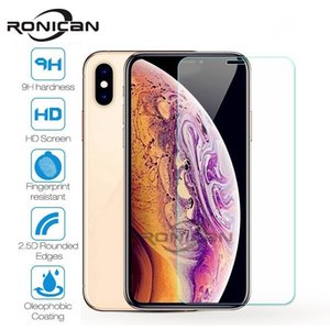 10 Pieces Tempered Glass For iPhone XS MAX XR 4 4s 5 5s SE 5c Screen Protective Film For iPhone 6 6s 7 8 Plus X Glass Protector
