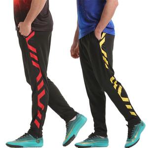 Koşu Pantolon Jogging Erkekler Fermuar Cepler Atletik Futbol Futbol Pantolon Eğitim Spor Yetişkin Spor Pantolon Dipleri Homme