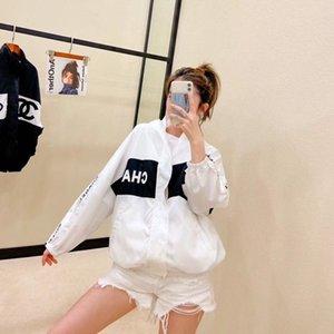 A nova versão coreana do 2020 Primavera costume splicing pesado protetor solar mulher blusão casaco casuais