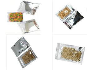 Us 90 Lot Front Clear Plastic Pouches Aluminum Foil Mylar Resealable Zipper Ziplock Bags For Electronic Accessories garden2010 nFfFR