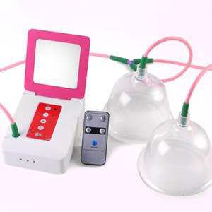 소형 전기 유방 마사지 진공 유방 확대 진동기 흡인 마사지기, 마사지 기기 빠는