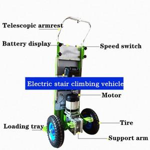escaleras carretilla eléctrica para subir escaleras vehículo subir escaleras entregar mercancías de elevación eléctrica de la batería del vehículo yhSr #