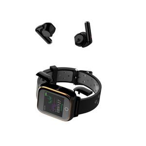 أحدث M6 بلوتوث اللاسلكية سماعة TWS رصد معدل ضربات القلب للياقة البدنية تذكير سماعة أذن سماعة مع سمارت ووتش الاسوره