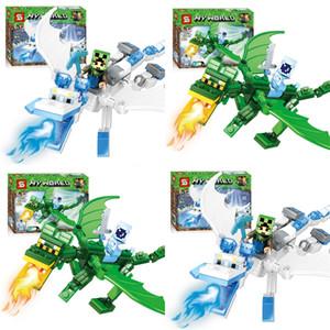 LOZ 미니 블록 놀이 공원 벽돌 빌딩 블록 장난감 어린이 조립 DIY의 어린이 Street 도시보기 교육 3D 모델 Y190606 # 953