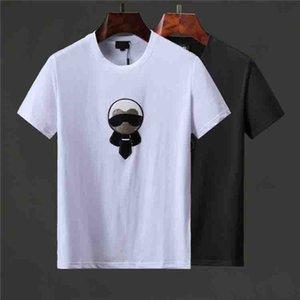 Fashion Luxury fast shipping Brand Designer T Shirt Hip Hop White Mens Clothing Casual T Shirts For Men Letters Printed Tshirt WHITE NO.5233