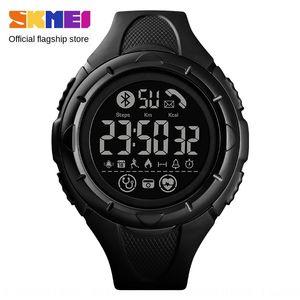 Shikemei novo pedômetro Bluetooth Sports relógio inteligente multi-função relógio pedômetro chamador ID lembrete frequência cardíaca
