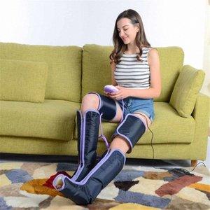 Tornozelos Circulação Pernas Terapia massageador elétrico Massagem Air compressão tampa do pé da vitela Braço de inicialização Meias Relaxamento Saúde PTBE #