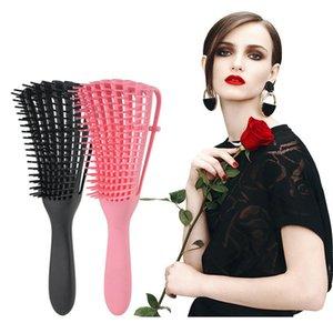 Bize 149 22 Offadjust Saç Fırçası Saç Derisi Masaj Tarak Kadınlar detangle Hairbrush Sağlık Tarak azaltın Yorgunluk İçin Salon Kuaförlük rnzCR