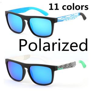 Новый Спорт поляризованные солнцезащитные очки TR90 Ski UV400 Защитные очки лета Surfing очки Оптовые 11 цветов Полный пакет