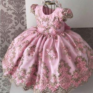 Christmas New Year Dress Girl Kid Elegant Wedding Dress Lace Gown Children First Communion Dresses Teen Girls 8 10 Year Birthday