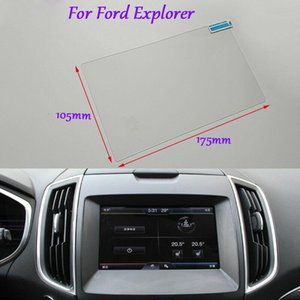 Internal Accessories 8 inch Car GPS Navigation Screen HD Glass Protective Film For Ford Explorer
