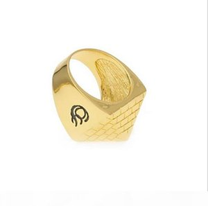 Y Men &#039 ;S 18k Gold Plated Hip Hop Ring Pyramid Cone Ring Egyptian Totem Alloy #8 -#11