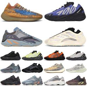 adidas Yeezy Boost 700 380 Kanye West 700s 380s Wave Runner Stock x Herren Laufschuhe Alvah Azael Alien Mist Herren Trainer Sport Turnschuhe