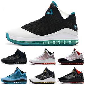 2020 New Mens sapatos LeBrons 7 crianças de basquete Triplo Gato Preto Ouro Branco Red Oreo BHM CNY Páscoa LeBron 7s VII sneakers tênis