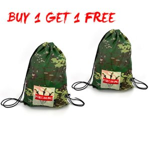 Gym s Two Pieces Gym Bag Strong Package 17L Packing Cubes Large Capacity Drawstring Bag Sports Bundle Camouflage Bag Fitness backpack