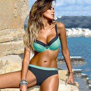 YCDYZ New Sexy Brazilian Bikini Push-up Tanga Badeanzug-Badebekleidung Frauen Biquinis Feminino Maillot De Bain Femme Badeanzug LJ200826