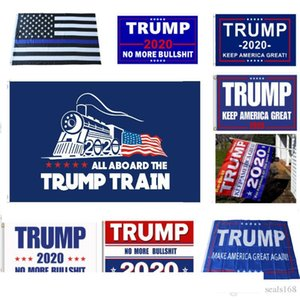 New Trump 2020 Flag Donald Trump Flag Keep America Great Donald For President USA Campaign Banner Garden Flags 90*150cm 12 Styles HH7-1988