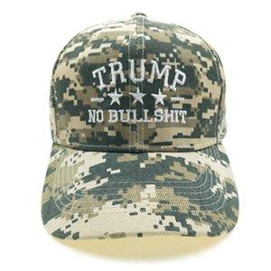 Yeni Trump Kamuflaj Hat Beyzbol şapkası Trump 2020 MAGA Kamuflaj İşlemeli Şapka Tut Make Amerika Büyük Yine Cap IIA399