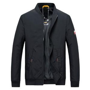 KANCOOLD vestes pour hommes Printemps Automne Manteaux Casual Solide Couleur Hommes Vêtements de sport pied de col Slim Vestes Homme Bomber 829