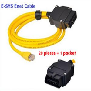 (20 Stück) 2016 Neue Ankunft für B-M-W ENET (Ethernet zu OBD) Schnittstellenkabel E-SYS ICOM Codierung F-Serie DHL-freies Verschiffen