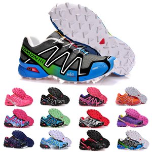 2019 New Multicolor Zapatillas Speedcross 3 designer luxury Shoes Mens Speed cross Athletic Sneakers Size 40-46