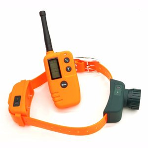 Beeper colliers pour chiens Pet choc Vibrant COLLIERS dresseur à distance 9 niveaux de choc électrique Collier de choc Beeper
