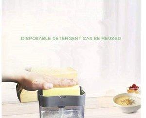 المطبخ المنظفات منظفات صندوق تخزين الإسفنج صحن الصابون أدوات مكملات مطابخ سوائل التنظيف التلقائي صندوق تجوب منصة EEA1888