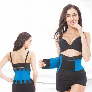 Womens Belt Fitness Sport Shapers cintura Cinchers Fat Burning Cintola Ridurre Tummy Shapers Workout femminile Sashes 8YbQ #