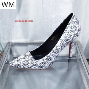 New Sexy Snake Red Bottom Pointed High Heels Women High Heels Sandals Slippers Mules Slides Pumps Shoes Sneakers Dress Shoes