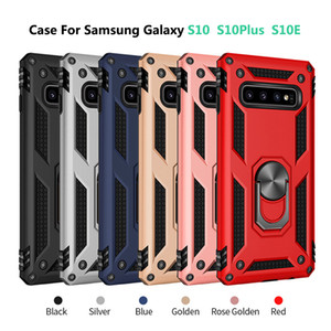 Ring Bracket Phone Case For Samsung Galaxy S10 S10+ S10E Cover for Samsung Galaxy S10Plus S10E S10 Case Shell Shockproof Case Ring Stand