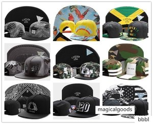 cayler sons snapbacks maple leaf printed flat hip-hop men's Fashionable women's hat