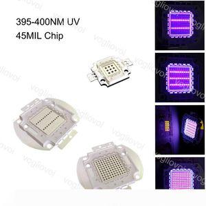 Light Beads UV 395-400NM COB 45MIL Chip 10W 20W 30W 50W 100W Lighting Accessories For Nail Guard Safety Warning Light EUB