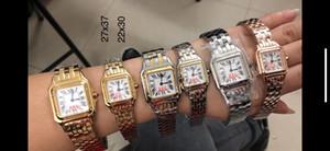 Männer Frauen Stahlgehäuse Weiß Zifferblatt Watch Quarzuhr Edelstahl Armband 080